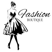 Fashion boutique background with beautiful girl vector 03 ...