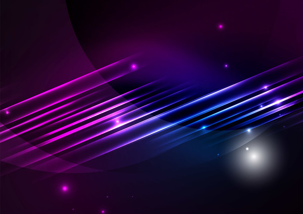 3d Emoticons Wallpapers Purple With Blue Light Lines Background Vector 01 Free