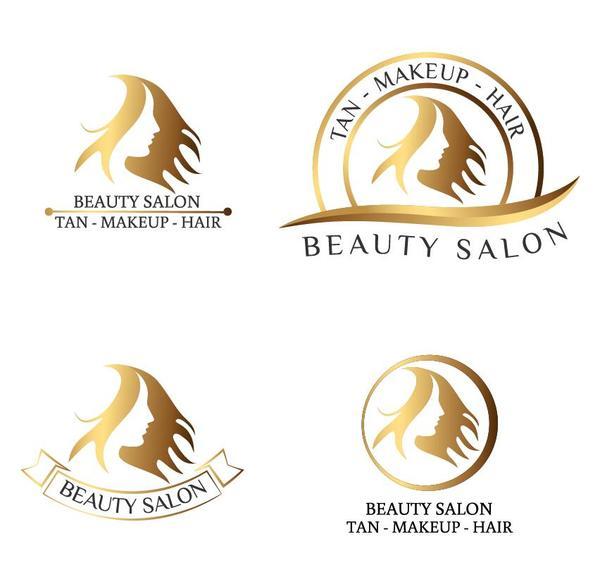 beauty salon logos design