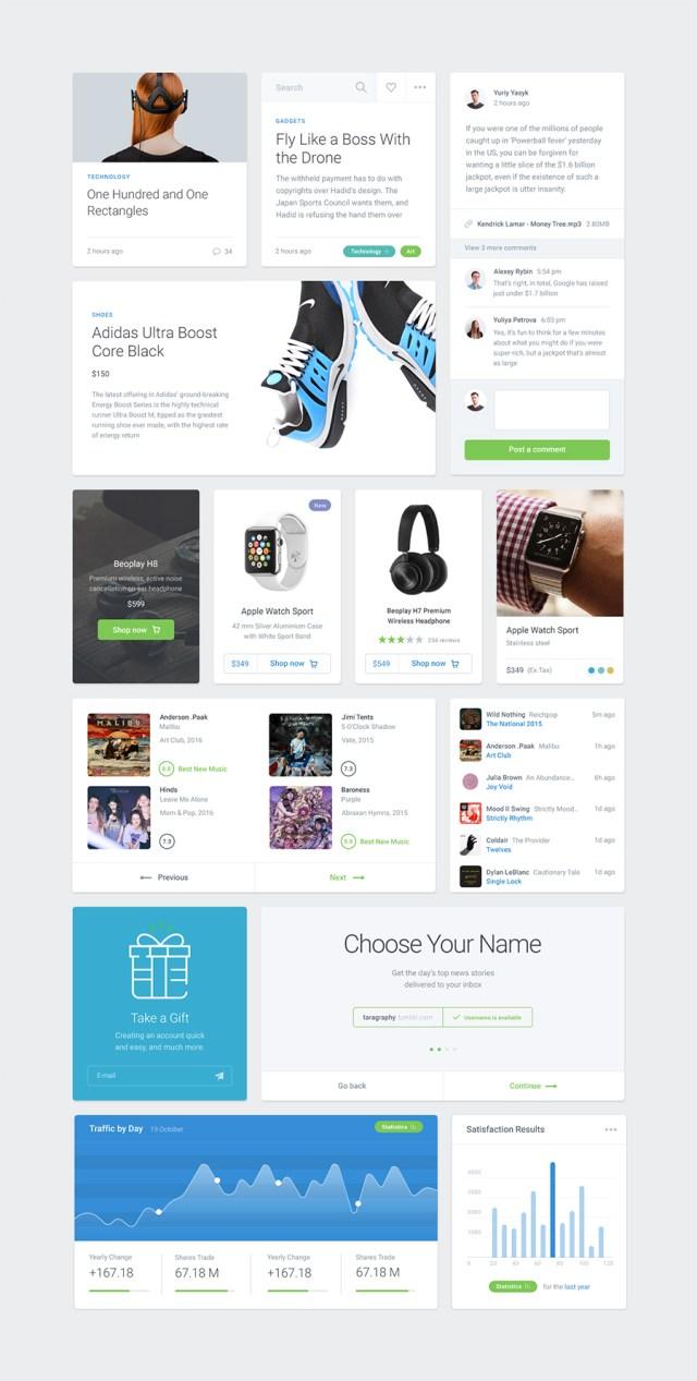 Module 01 UI Kit - Free Sample