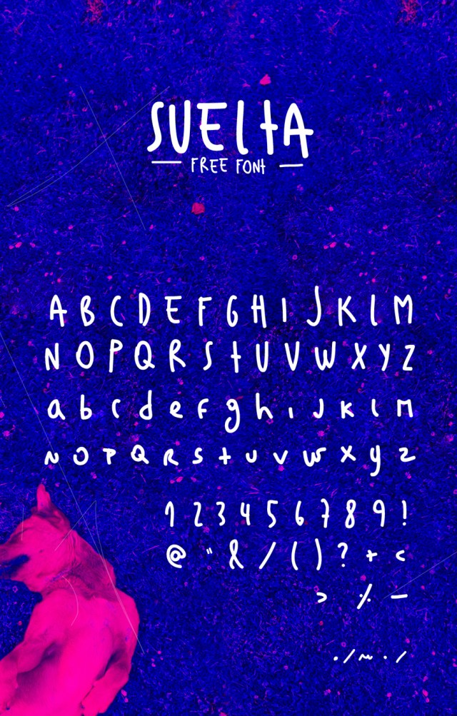 Suelta Free Font