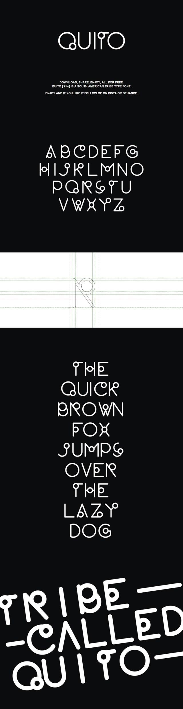 quito-free-font
