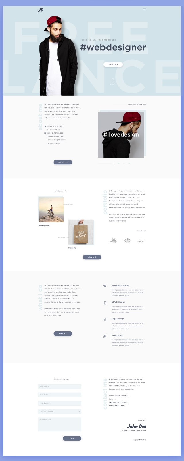 JD_Free_Personal_PSD_Template