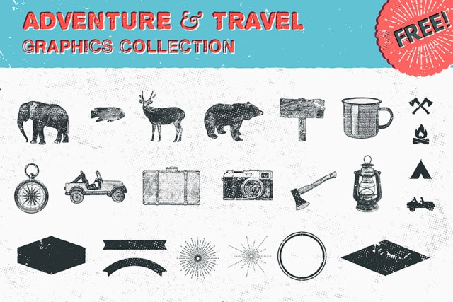 Free Adventure Graphic Collection