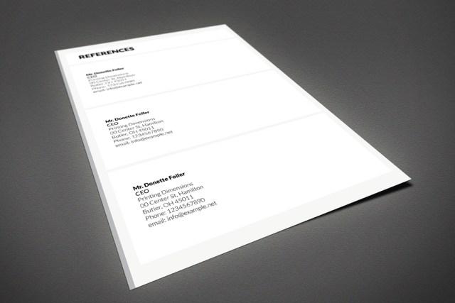 Free Minimal Resume With Portfolio