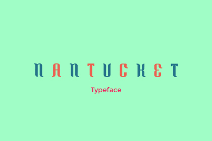 nantucket typeface