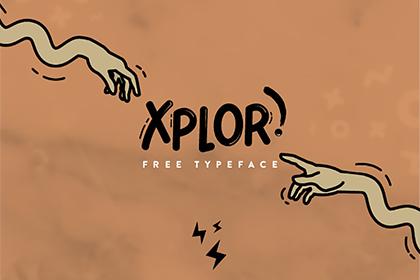 Xplore - Free Typeface