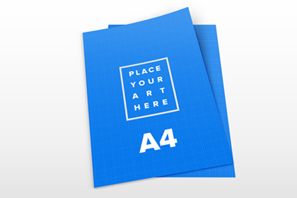 Free A4 Paper Mockups