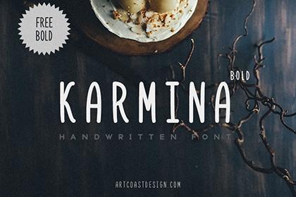Karmina - Handwritten Font