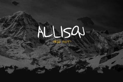 Allison Free Font