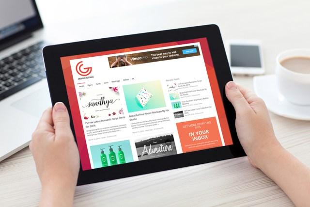 iPad-in-Hand-Mockup
