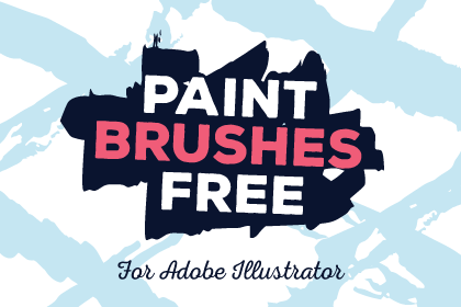 free-illustrator-paint-brushes