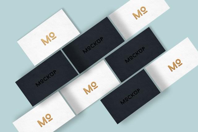 Elegant business card mockup free design resources elegant business card mockup reheart Images