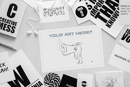 Show your Artwork - Free Mockup