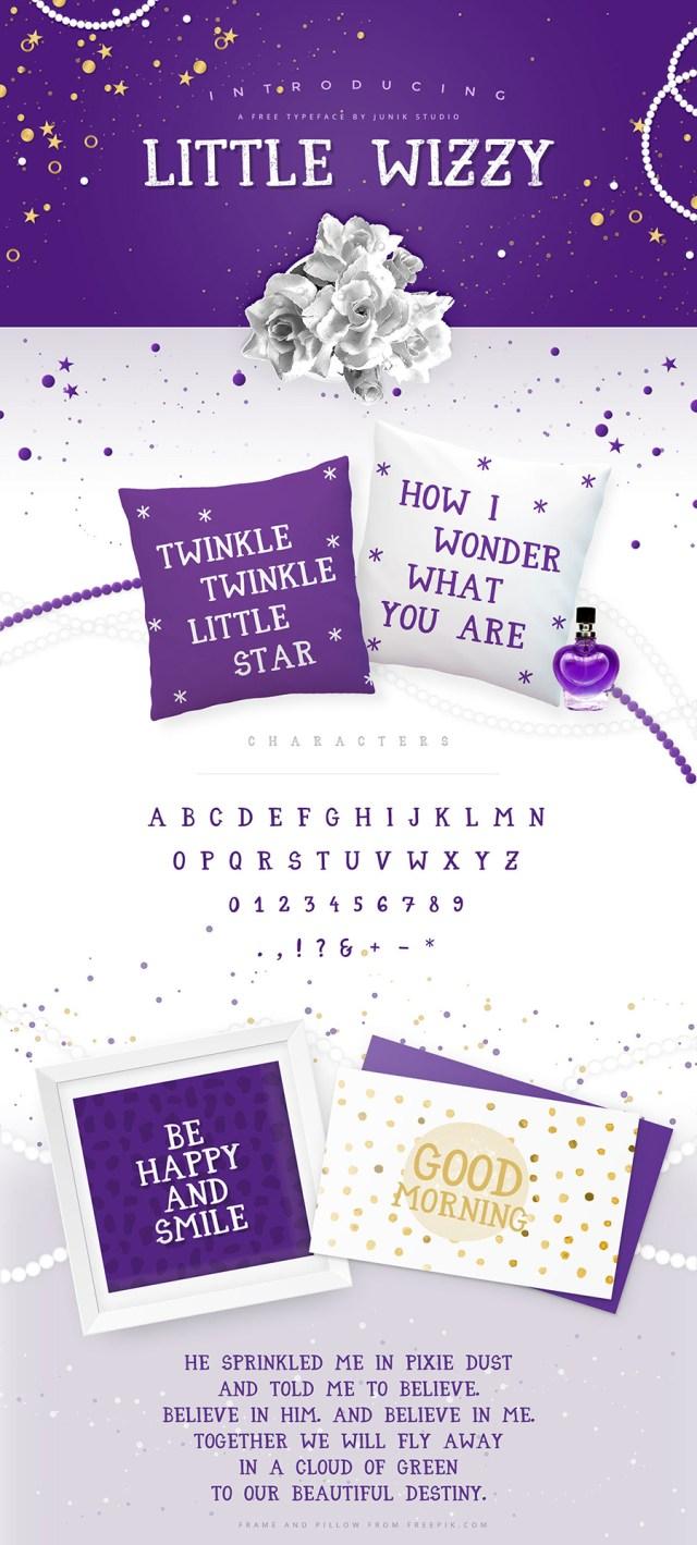 Little Wizzy - Free Typeface