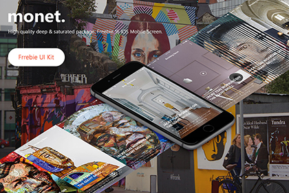 Monet: Freebie UI Kit