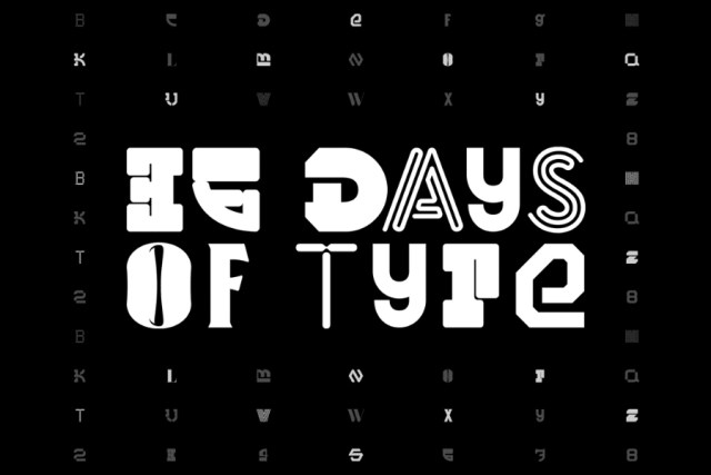 36 Days of Type – Free Typeface