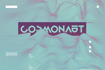 Cosmonaut - Free Font