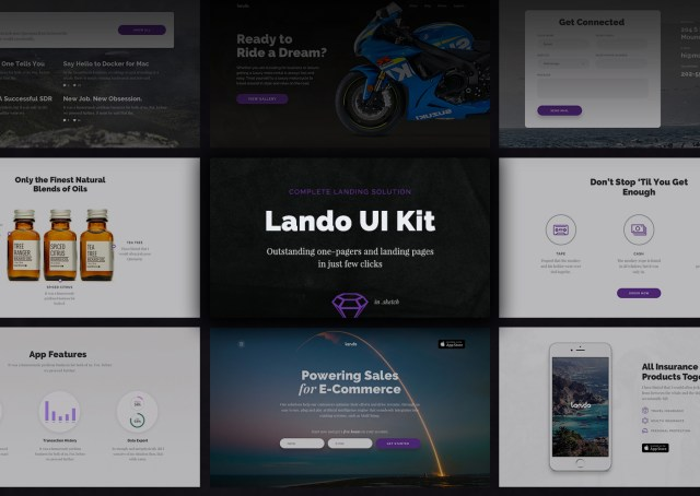 Lando UI Kit - Free Sample