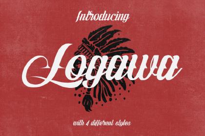 Logawa Typeface