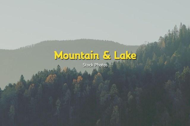 Mountain & Lake Stock Photos