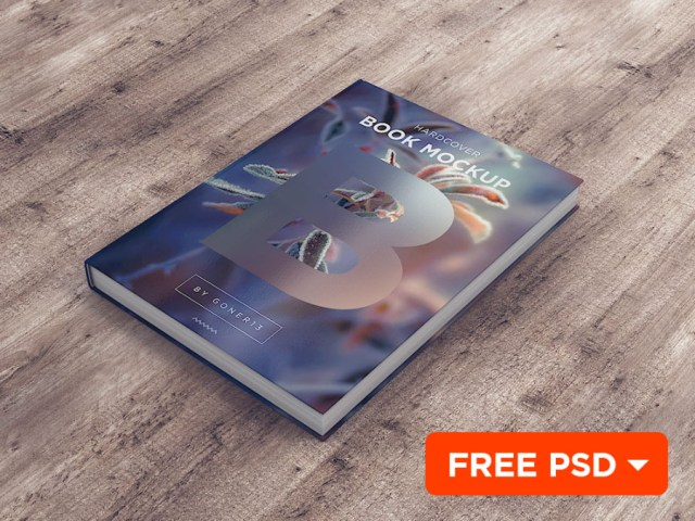 Free PSD Book Mockup Vol.1