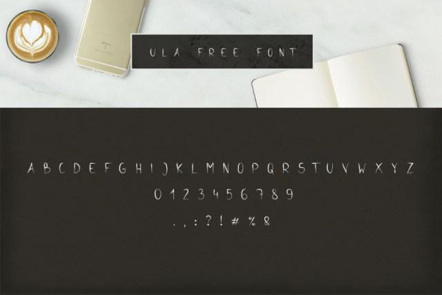Ula Free Font