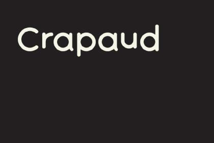 Crapaud Free Font
