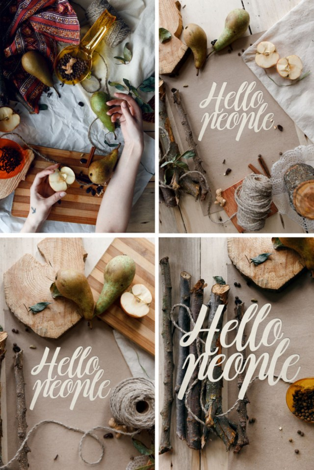 Hello People - Free Mockup