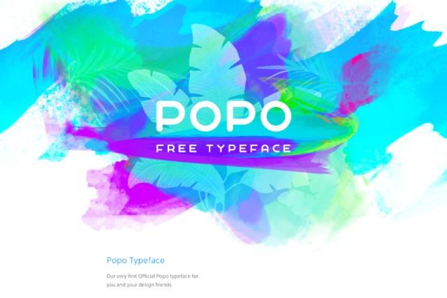 POPO Free Font