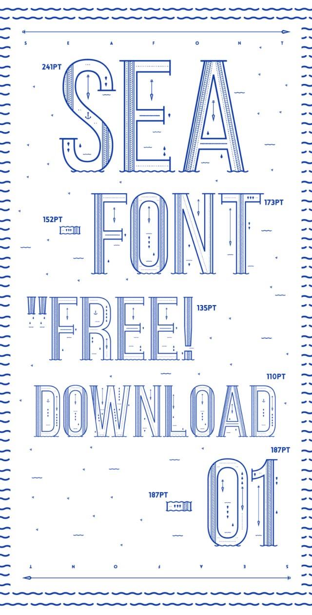 SEA - Free Font