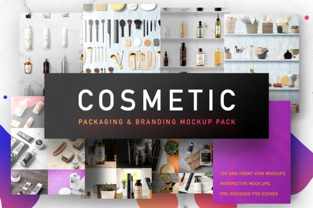 Cosmetic Packaging Mockups