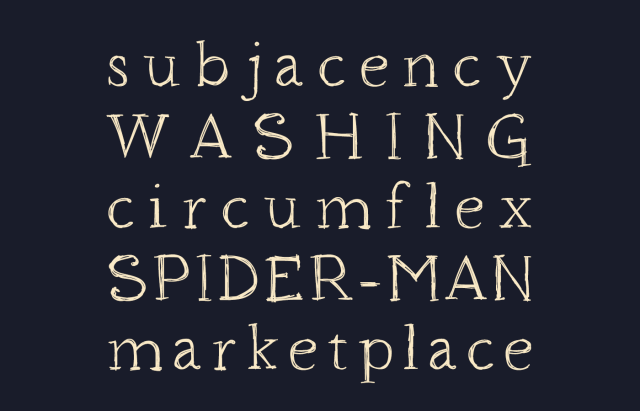 Houndville Free Handwriting Font