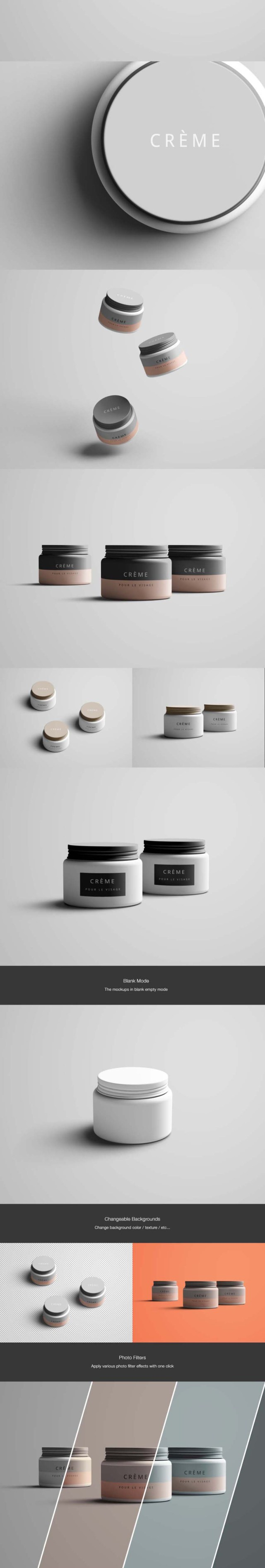 Jar Mockup Free Version