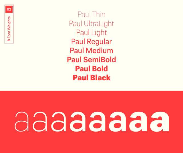Paul Grotesk Free Demo