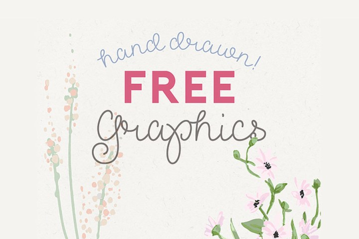Free Handdrawn Decorative Vector