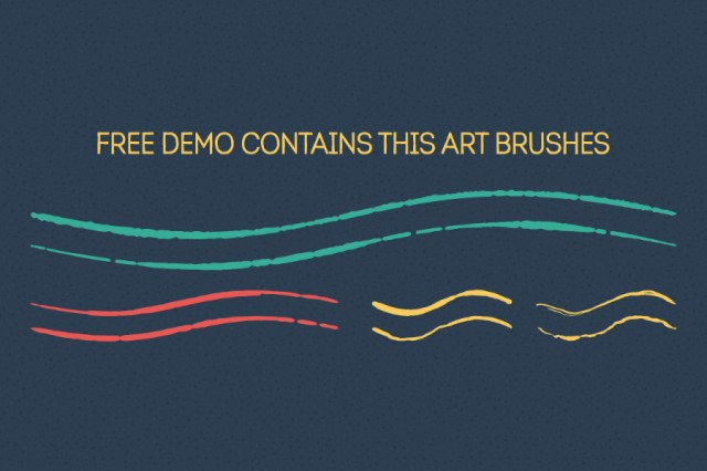 Handdrawn Vector Brush Free Demo