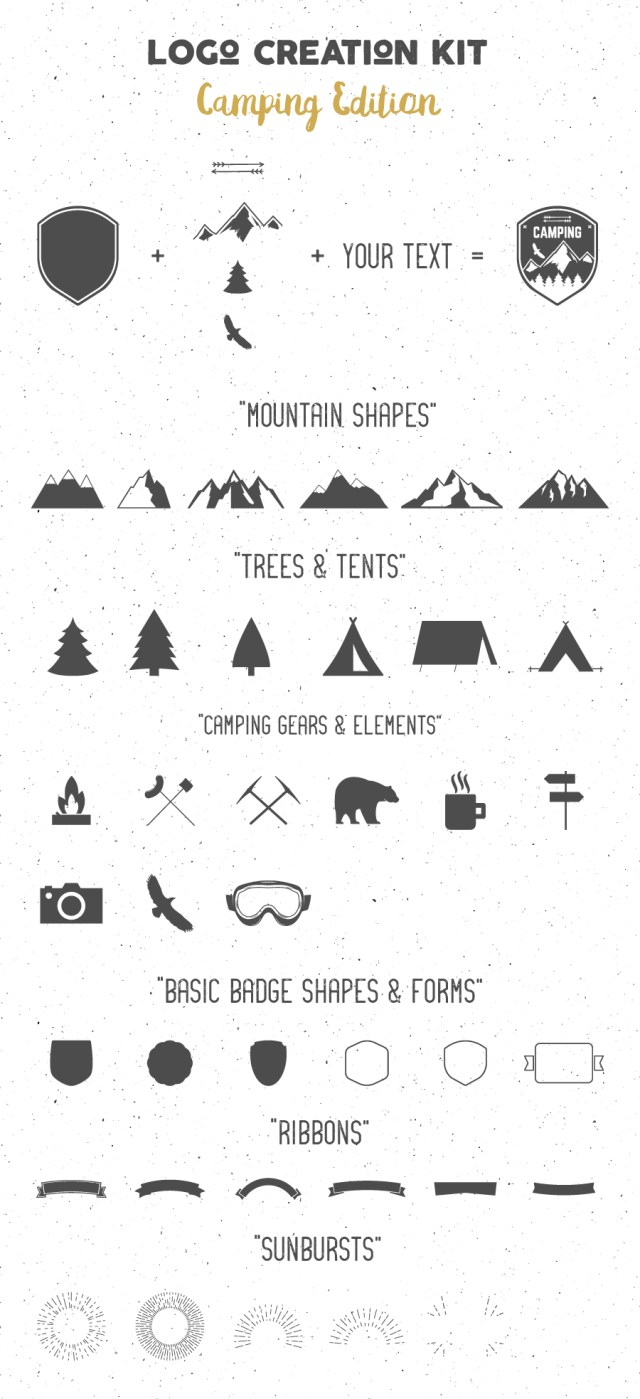 Logo Creation Kit Camping Edition Free Demo_1