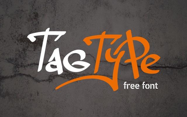 Tag Type Graffiti Free Font