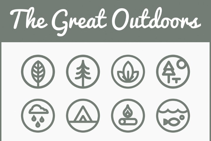 The Great Outdoor Free Icon Set