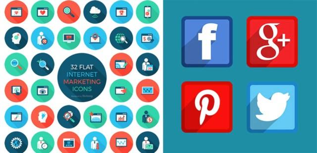 Free Internet Marketing Icon Set