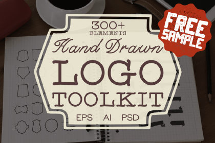 Hand Drawn Logo Toolkit Free Sample