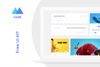Magic Free Creative UI Kit