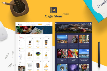 Magic Stone UI Kit Free Sample