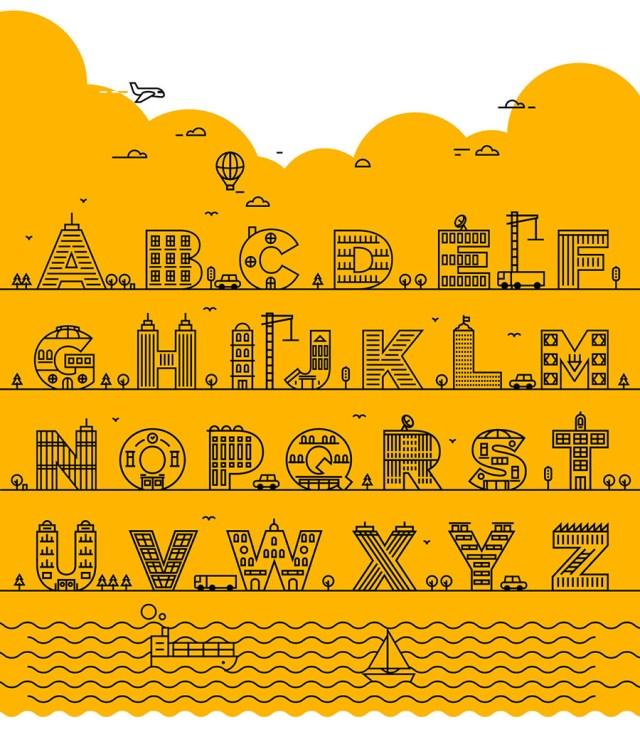 Hane Free Vector Typeface