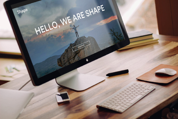 Shape Free Homepage UI Kit