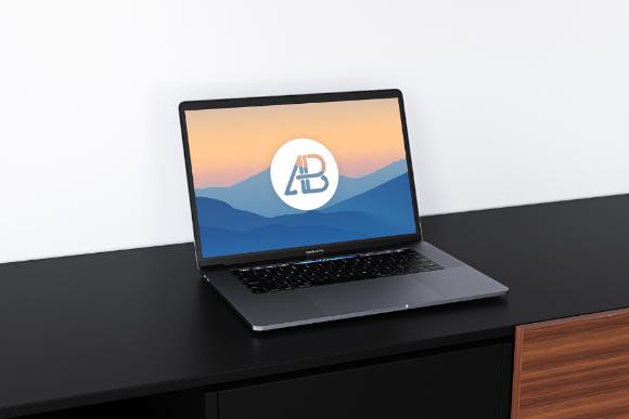 Realistic MacBook Pro Mockup Vol 2