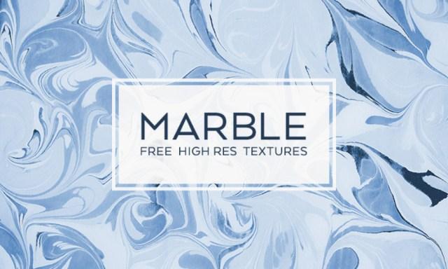 Suminagashi Marble Texture Free