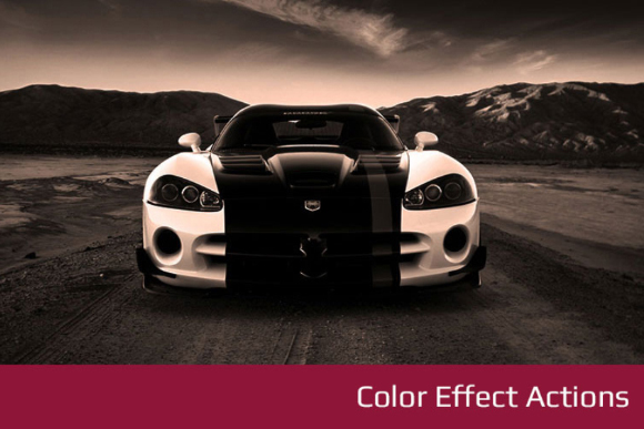 Photoshop Color Effect Action
