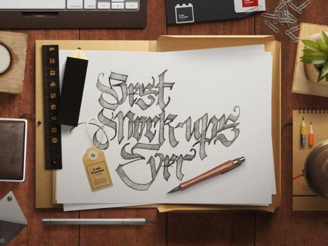 Sketch Topview Mockup Scene Creator
